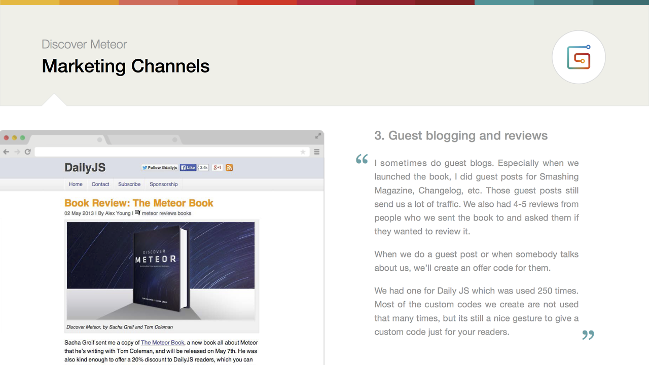 marketing channels guest blogging