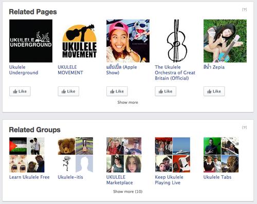ukulele related pages