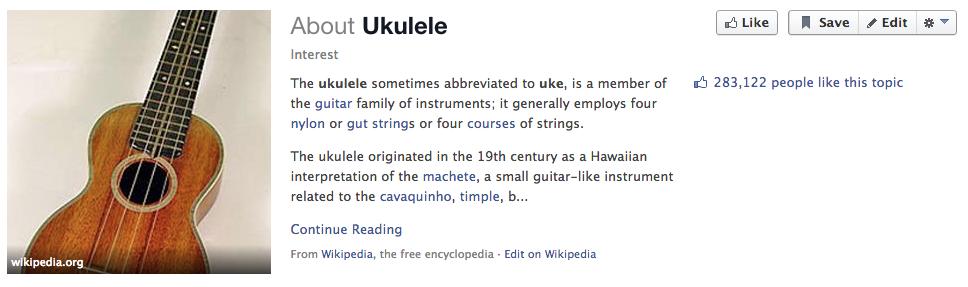 ukulele facebook search